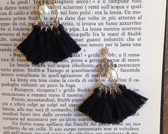 Pearl & Tassel black