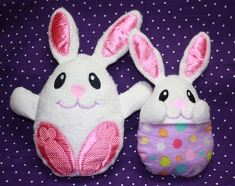Peek-a-Boo Bunny Softie - Easter Bunny Soft Toy - Available in 2 Sizes