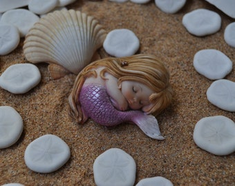 Sleeping Mermaid Baby