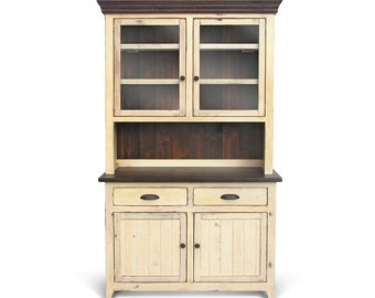 Sideboard, Hutch, Buffet, Reclaimed Wood, Server, Table, China Cupboard, Rustic, Farmhouse, Handmade