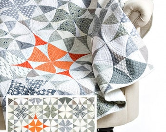 Chic Country by Sew Kind of Wonderful - QCR Quilt Pattern SKW 411 - Fat Quarter Friendly