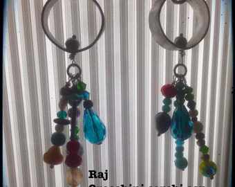 Recycled aluminum earrings