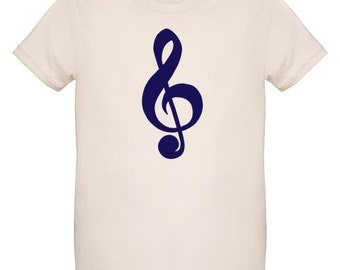 Organic T-Shirt for Kids-Musical Note