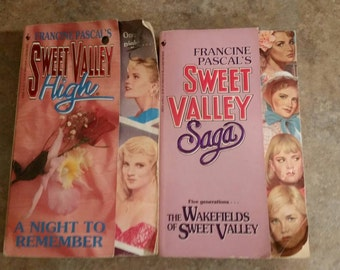 Sweet Valley High book from early 90's