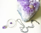 Amethyst Necklace, Positive Energy, Good Vibrations, All-Healing, Sweet Dreams, Dreamer Necklace, Healing Energy, Gypsy Soul, Metaphysical