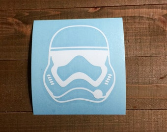 Star Wars The Force Awakens Stormtrooper Decal