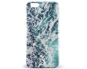 1383 // Ocean Wave Water Splash Phone Case iPhone 5/5S, 6/6S, 6+/6S+ Samsung Galaxy S5, S6, S6 Edge Plus, S7