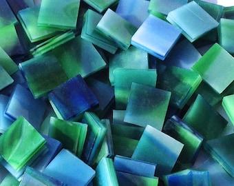 Blue Green Opal Mosaic Tiles