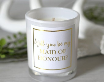 Be My Maid of Honour Soy Candle