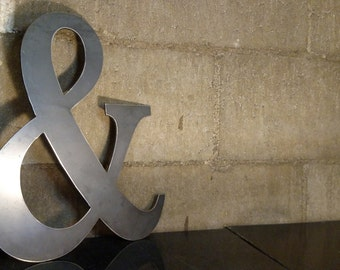 Ampersand metal sign for home decor // wall signs // gifts // metal signs // metal wall art // metal decor // custom metal sign // wall art