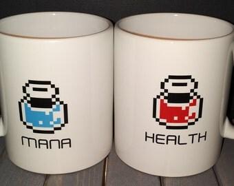 11oz Health Mana Mug