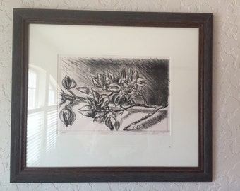 Pods (original hand-pulled lithograph)