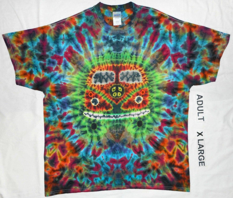 free shipping handmade hippie tie dye shirt