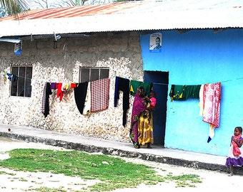 Photography, Zanzibar Street, African Art, African Decor, Wall decor, African Photo, Wall Art, Photography, Printable , Digital Download