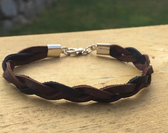 Essential Oil Diffuser Leather Bracelet - SUPER SOFT Customizable