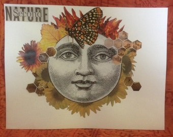 Second Nature- Collage