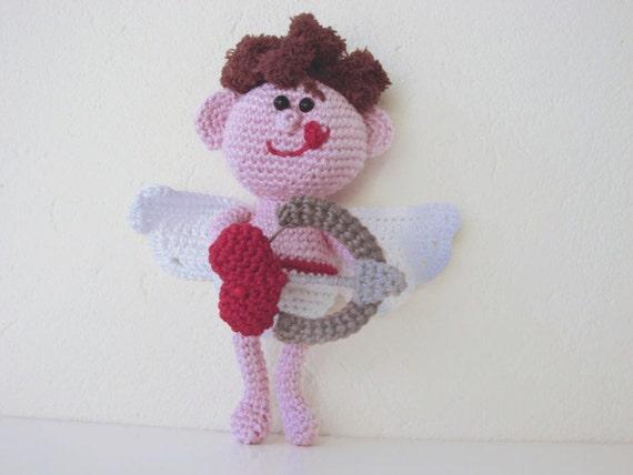 Amigurumi Valentine : Amigurumi Cupid crochet pattern Valentines day