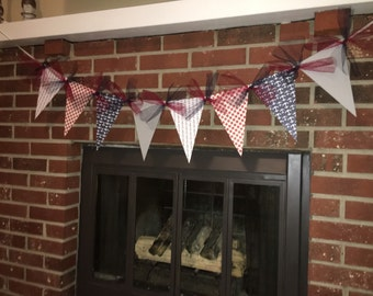 Anchor Banner, Nautical Banner, Nautical Party, Patriotic Banner, 4th of July Banner, 4th of July Party, Fourth of July Party