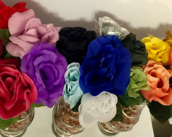 Rose Flower Pen 20 colors available!!! Wedding, Bridal or Baby Shower, Party Favor, Teacher Appreciation, Office Gift, or meeting handout