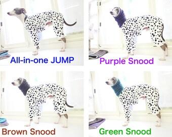 Snood with: Dalmatian pattern JUMP CustomORDER