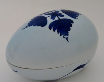 Italian Egg-Shaped Container