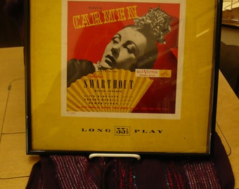 Framed Record, Carmen