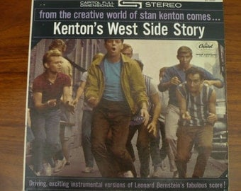 Stan Kenton's West Side Story LP Album