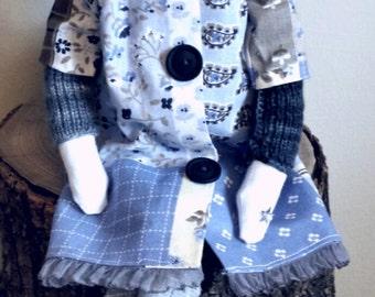 tilda doll, angel, handmade doll, Christmas gift