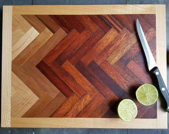 Cutting Board Geometric Design