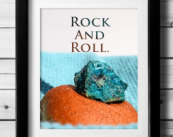 Funny Quote, Geology Pun, Gift for Geologist, Rock Collectors, Rock Lovers, Funny Art Print, Earth Science, Funny Quote Print, Downloadable