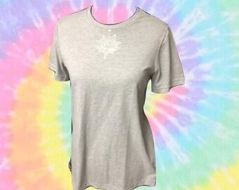 Henna grey tshirt american apparel size medium