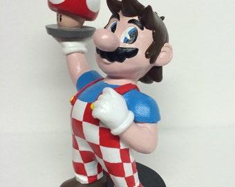 Big Boy Mario inspired by Super Mario/Bob's Big Boy