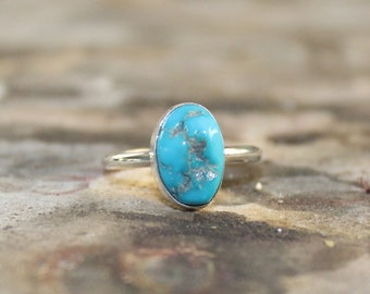 Sleeping Beauty Turquoise Ring 007