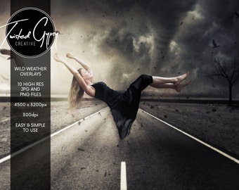 Wild Weather - 10 Dramatic Image Overlays