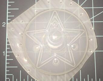 Kawaii Sailor Moon Crystal Star Compact - Plastic Resin Mold