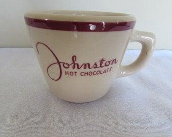 Wellsville Reataurant Ware Hot Chocolate Mug (1951)