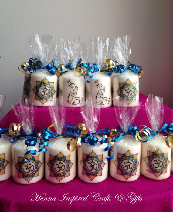 Indian Wedding Return Gift Ideas: Items Similar To Set Of 25 Candles, Return Gifts For
