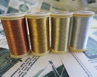 Fil au Chinois  Metallic Threads Size 40