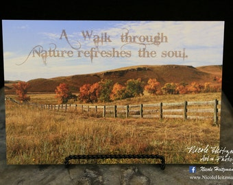 Custer State Park Photo Fall Photo Fall Photography Black Hills Nature quote Nature saying Nature print Autumn Photo by Nicole Heitzman