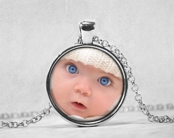 Personalize Photo Necklace- Custom Picture Jewelry