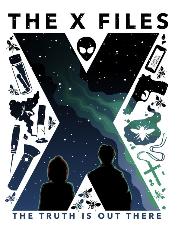 The X-Files poster 11x...X Files Poster