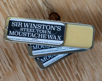 Sir Winston's 0.5 Oz. Moustache Wax