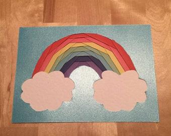 Iris Folded Rainbow
