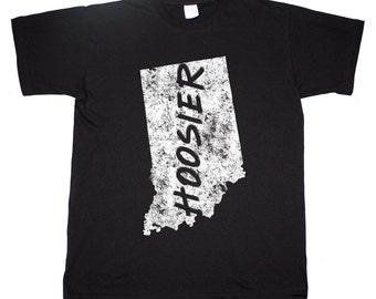 Indiana State Home Tee Hoosier Indianapolis T shirt