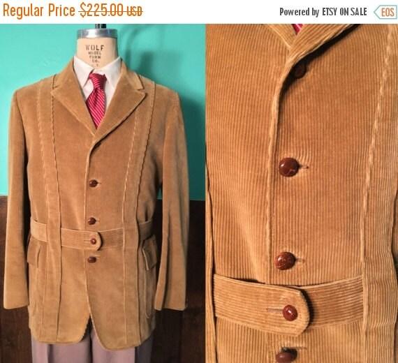 Vintage 1950s Mens Sport Coat | 50s 60s Abercrombie & Fitch