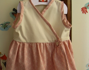 Princess. Little Apron  Dress in Organic Cotton