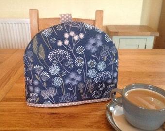 Blue and Cream Wildflowers Tea Cosy