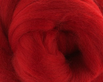 Passion Merino Tussah Silk Combed Top Wool One Ounce for Felting and Spinning