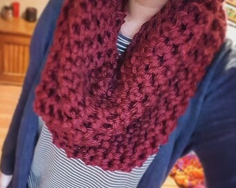 Extra Thick Cowl Neck Scarf