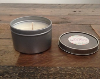 Lychee Peony Handmade Soy Candle